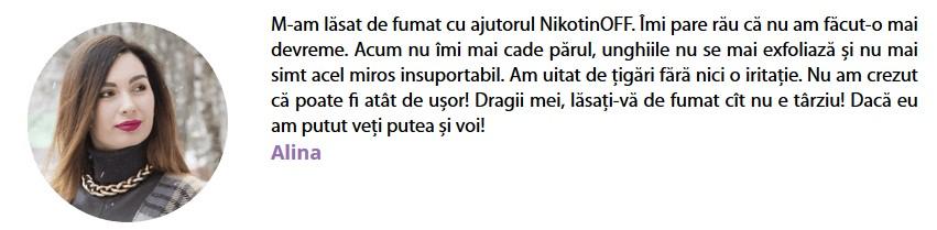 NikotinOFF Comentarii